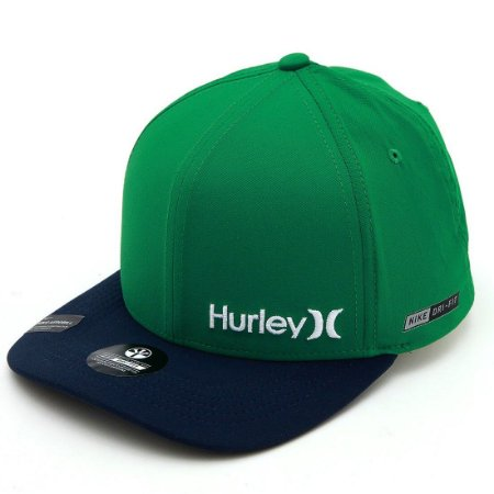 Boné Hurley Mini Dri Fit Verde