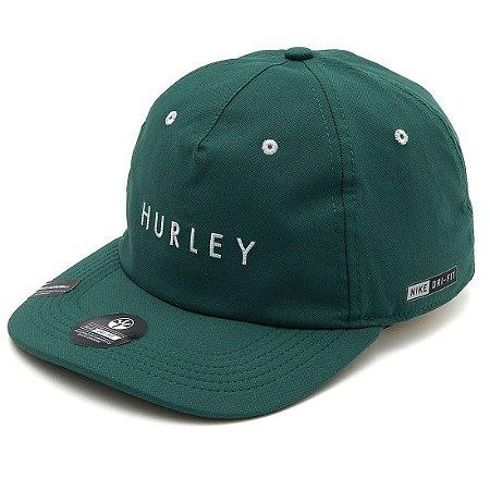Boné Hurley Lines Dri Fit Verde