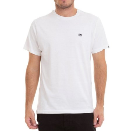 Camiseta Quiksilver Chest Transfer Off White
