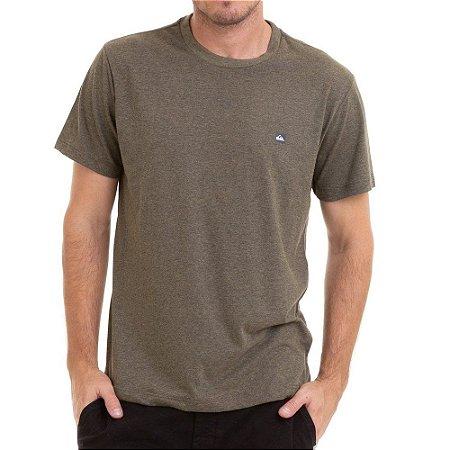 Camiseta Quiksilver Chest Transfer Color Verde