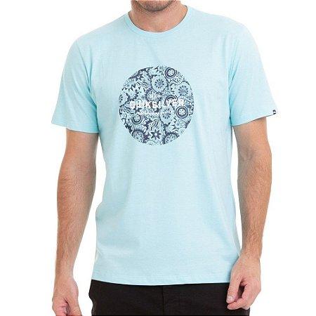 Camiseta Quiksilver Racing Dreams Azul Claro