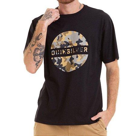 Camiseta Quiksilver Wtrm Fills Preta
