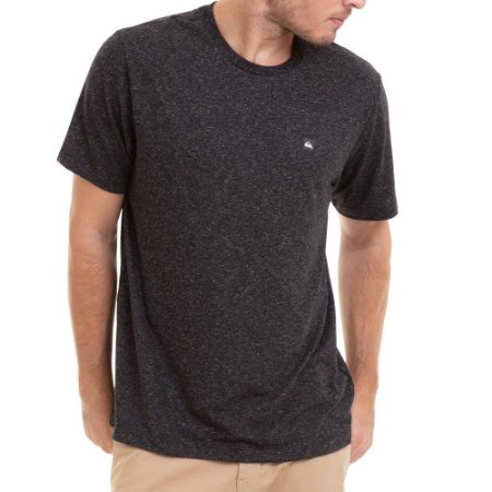 Camiseta Quiksilver Super Transfer Originals Preta