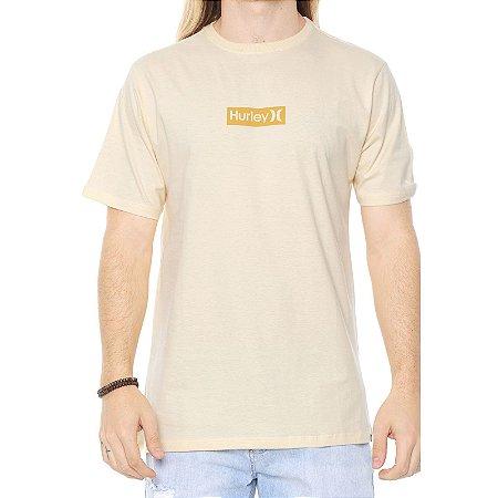 Camiseta Hurley Silk O&O Small Amarela