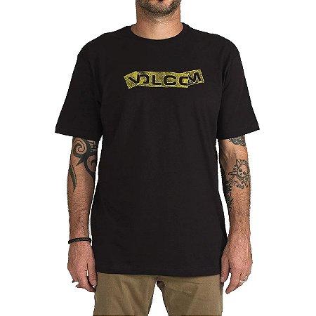 Camiseta Volcom Silk Fooled Preta