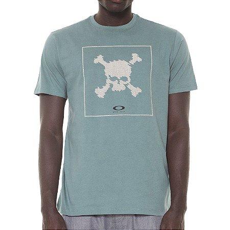 Camiseta Oakley Digi Skull Verde