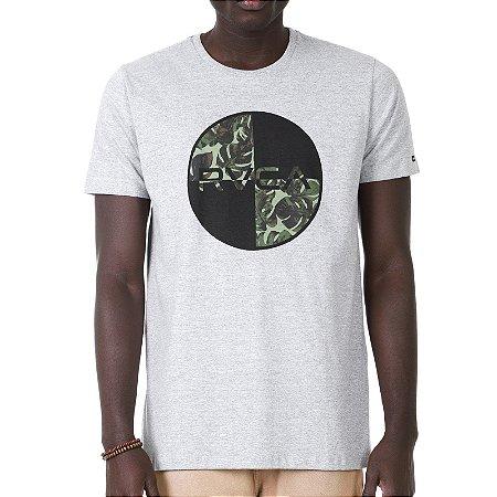 Camiseta RVCA Motors Mix II Cinza