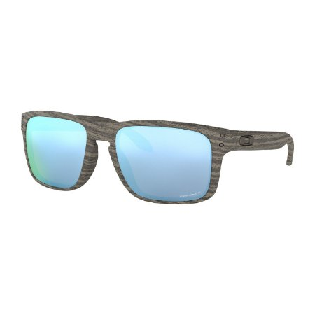 Óculos de Sol Oakley Holbrook Woodgrain W/ Prizm Deep Water Polarized
