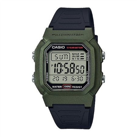 Relógio Casio Standard W-800HM-3AVDF Verde