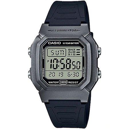 Relógio Casio Standard W-800HM-7AVDF Cinza