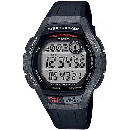 Relógio Casio Standard WS-2000H-1AVDF Preto