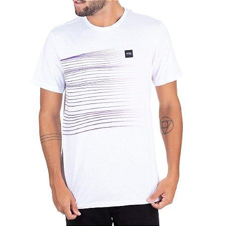 Camiseta Oakley Especial Sunset Iridium SP Branca