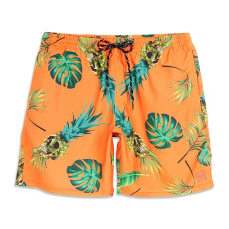 Shorts Oakley Tropical Trunk Laranja