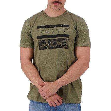 Camiseta Hang Loose Silk Leaf Verde