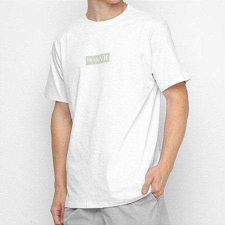 Camiseta Hurley Silk O&O Small Branca