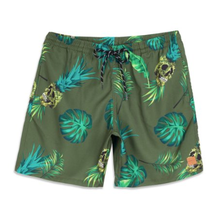 Shorts Oakley Tropical Trunk Verde
