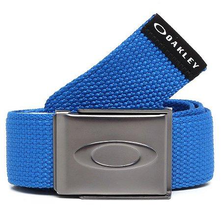 Cinto Oakley Ellipse Web Belt Azul