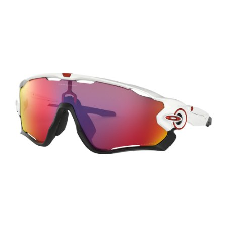 Óculos de Sol Oakley Jawbreaker Polished White W/ Prizm Road