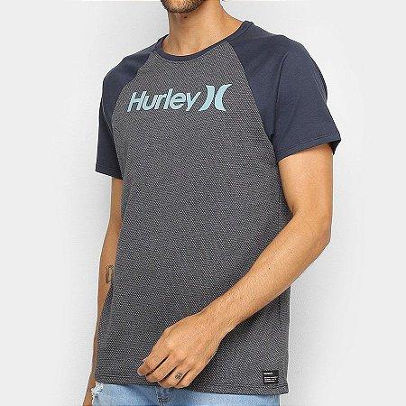 Camiseta Hurley Especial College Cinza Escuro