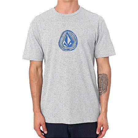 Camiseta Volcom Silk Sub Stone Cinza