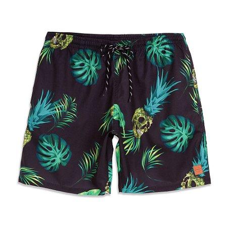 Shorts Oakley Tropical Trunk Preta