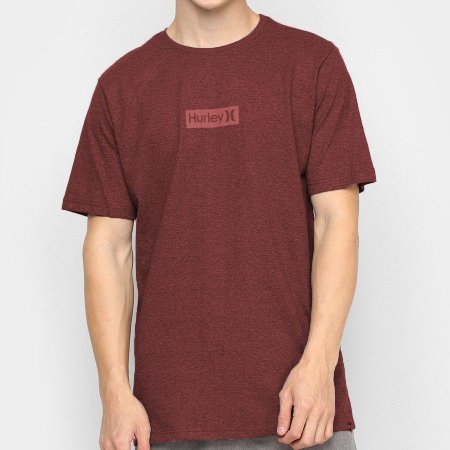 Camiseta Hurley Silk O&O Small Vermelha