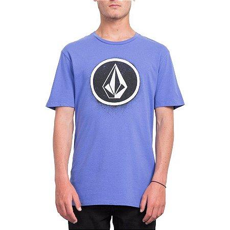 Camiseta Volcom Silk Spray Stone Azul