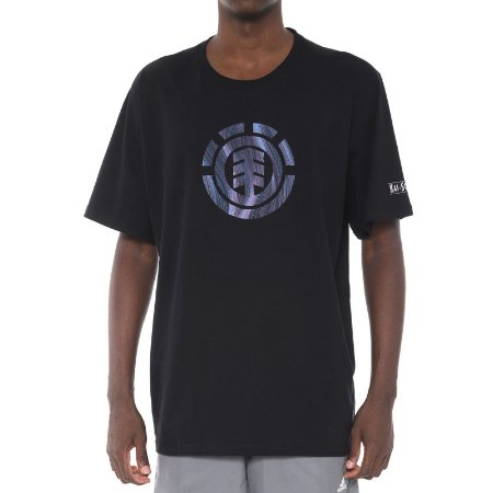 Camiseta Element Twists Logo Preta