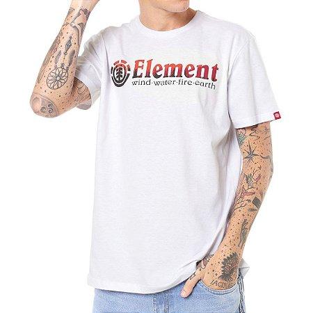 Camiseta Element Glimpse Horizontal Branca