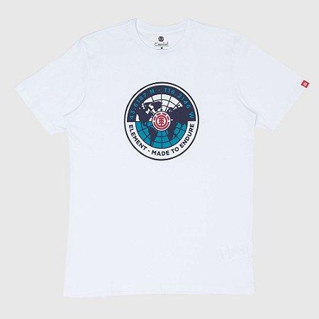 Camiseta Element Radar Branca