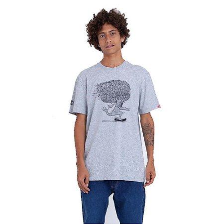Camiseta Element Pushing Tree Cinza