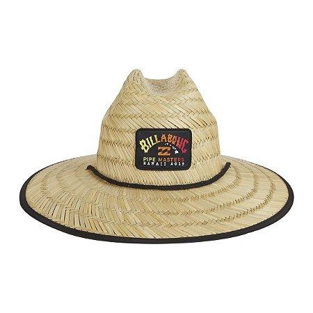 Chapéu de Palha Billabong Tides Pipe Marrom Claro