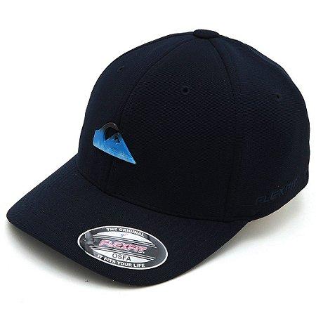 Boné Quiksilver Flex Pack Azul Marinho