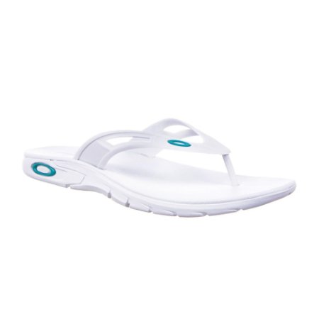 Chinelo Oakley Rest 2.0 Branco