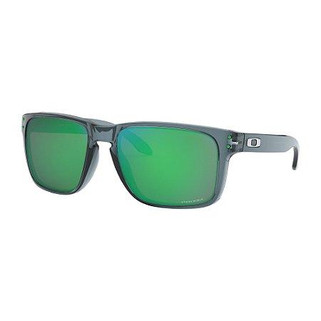 Óculos de Sol Oakley Holbrook XL Crystal Black W/ Prizm Jade