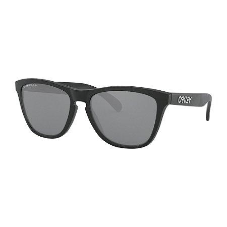 Óculos de Sol Oakley Frogskins Matte Black W/ Prizm Black Polarized