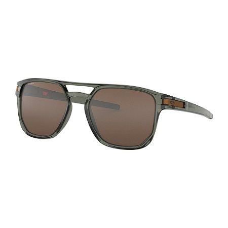 Óculos de Sol Oakley Latch Beta Olive Ink W/ Prizm Tungsten