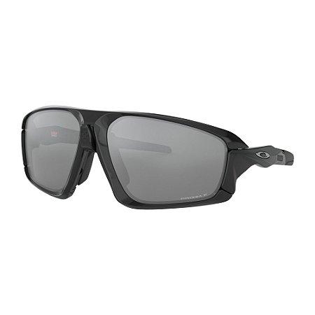 Óculos de Sol Oakley Field Jacket Polished Black W/ Prizm Black Polarized
