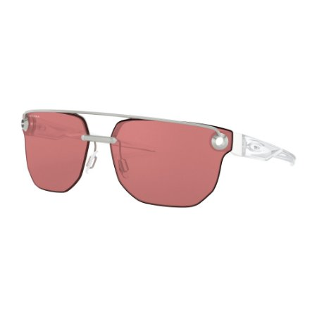 Óculos de Sol Oakley Chrystl Satin Chrome W/ Prizm Berry