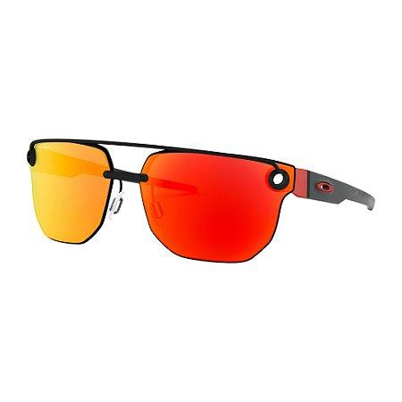 Óculos de Sol Oakley Chrystl Matte Black W/ Prizm Ruby
