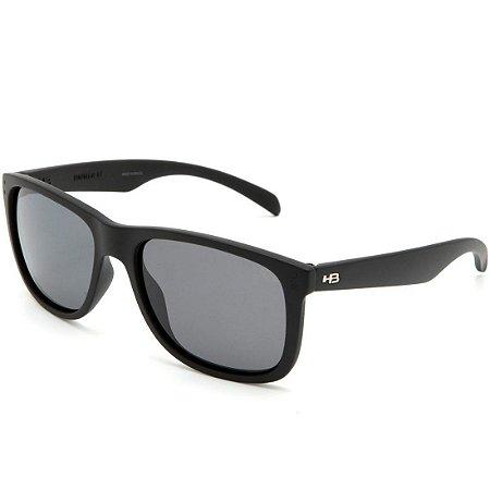 Óculos de Sol HB Ozzie Matte Black | Polarized Gray