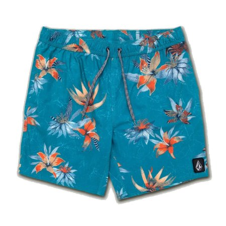 Shorts Volcom Flair Azul