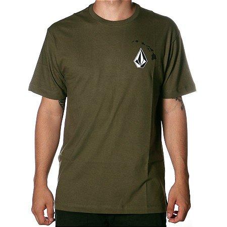 Camiseta Volcom Silk Deadly Hi Verde