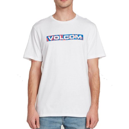 Camiseta Volcom Silk Euro Trash Branca