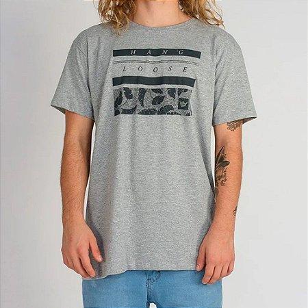 Camiseta Hang Loose Silk Leaf Cinza