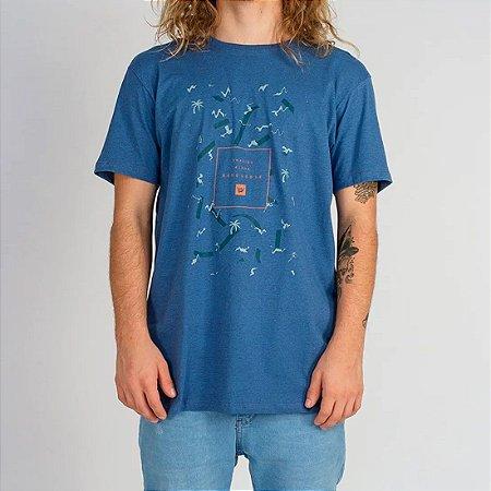 Camiseta Hang Loose Silk Soul Azul