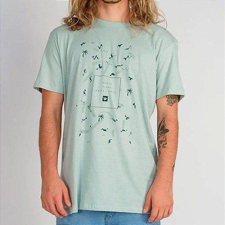 Camiseta Hang Loose Silk Soul Verde
