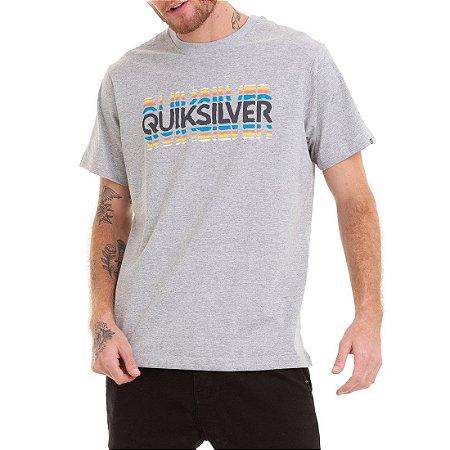 Camiseta Quiksilver Reverb Time Cinza