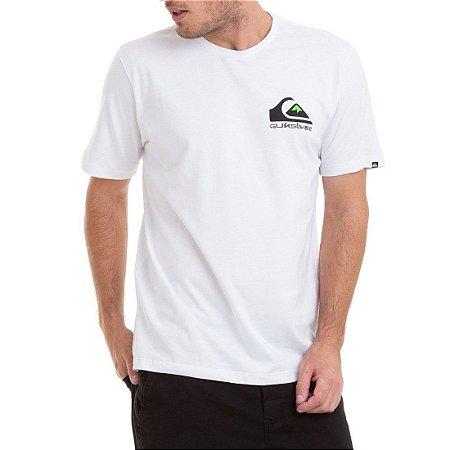 Camiseta Quiksilver Omni Logo Branco