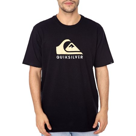 Camiseta Quiksilver Mountain And Wave Preto